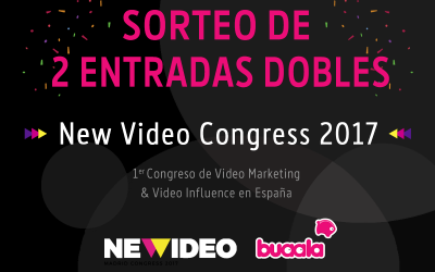 ¡Sorteamos dos entradas para el New Video Congress 2017!
