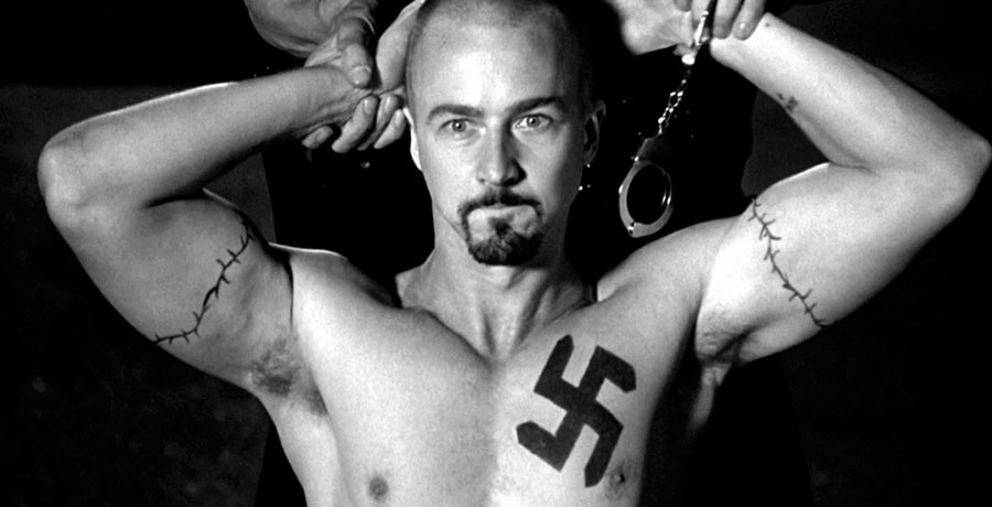Edward Norton tattoo American History X