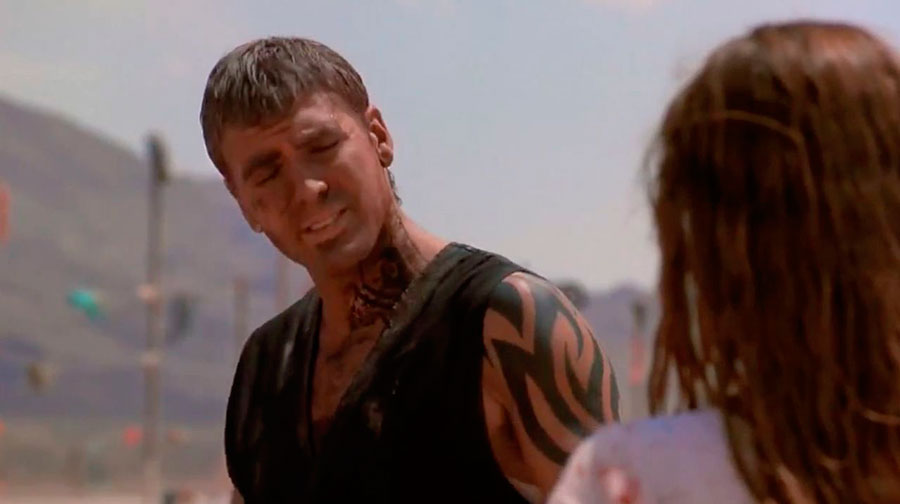 George Clooney tattoo Crepusculo al amanecer