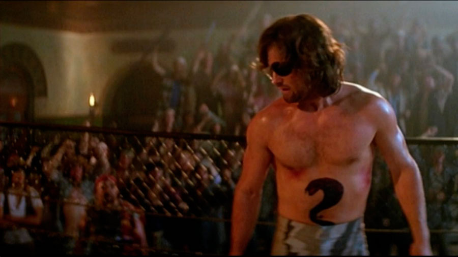 Kurt Russell tattoo Rescate en Nueva York
