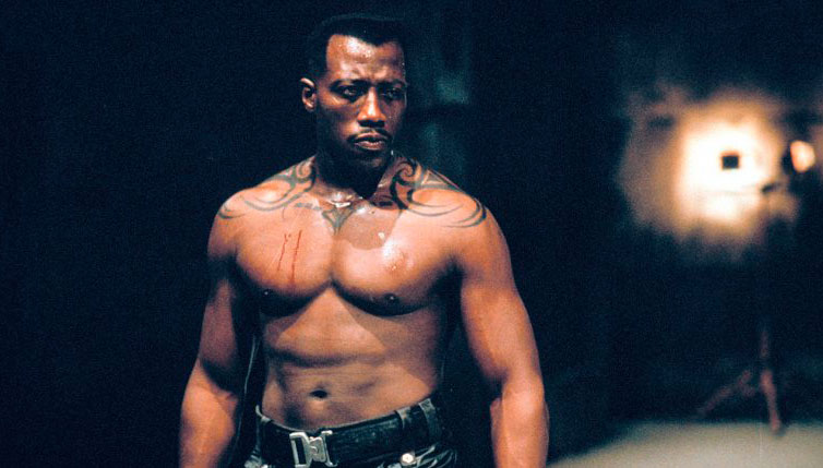Wesley Snipes tattoo Blade